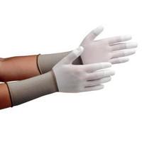 ミドリ安全 クリーンルーム用手袋 作業手袋 MCGー501Nロング(指先コーティング) SS 10双/袋 4045850080 1袋(10双入) (直送品)