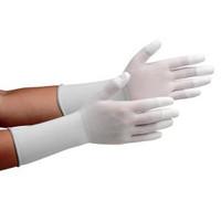 ミドリ安全 クリーンルーム用手袋 作業手袋 MCGー501Nロング(指先コーティング) S 10双/袋 4045850081 1袋(10双入) (直送品)