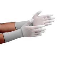 ミドリ安全 クリーンルーム用手袋 作業手袋 MCGー501Nロング(指先コーティング) L 10双/袋 4045850083 1袋(10双入) (直送品)