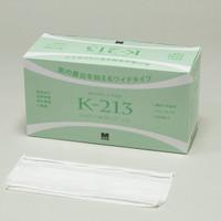 ミドリ安全 クリーンルーム用マスク・ゴーグル ワイドマスク 2枚重ね Kー213オーバーヘッドタイプ (100枚/箱)×30箱 4028016031 (直送品)