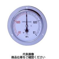 第一計器製作所 普通型圧力計 IPT一般圧力計 DVU R1/2150×160MPa IPT-961D-160-V 1台 (直送品)