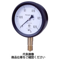 第一計器製作所 密閉形圧力計 MPPプラスチック密閉圧力計 AMU R1/2100×0.25MPa MPP-941A-/25-M 1台 (直送品)