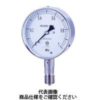第一計器製作所 タコメーター USTオールステンレス製圧力計 AT G1/460×0.7MPa UST-226A-0/7 1台 (直送品)