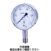 第一計器製作所 タコメーター USTオールステンレス製連成計 AT G3/860×0.2/ー0.1MPa UST-326A-CZ2 1台 (直送品)