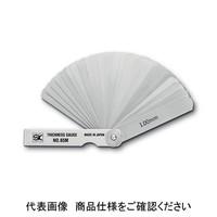 新潟精機 シックネスゲージ シクネスゲージ カラースリーブタイプ CS-150MH-W 1台 (直送品)