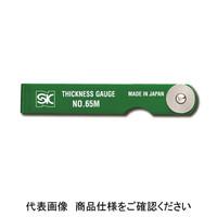 新潟精機 シックネスゲージ シクネスゲージ カラースリーブタイプ CS-150MH-G 1台 (直送品)