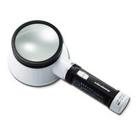 新潟精機 照明付きスタンド型ルーペ LEDフラッシュルーペ M-3202 M-320II 1台 (直送品)