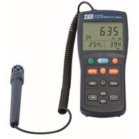 FUSO 環境測定器 データロガーCO2測定器 TES-1370 1個 (直送品)