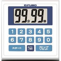 FUSO タイマー・ストップウォッチ 時計付防滴タイマー BT868 1個 (直送品)