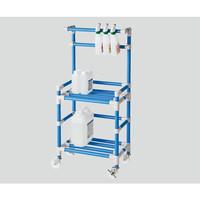ナビス クリーナーカート(抗菌防カビイレクター(R)) ブルー 1個 8-6548-02 (直送品)