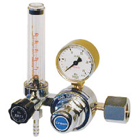 ユタカ 計測機器 流量計付一段式圧力調整器 アルゴン用 FR-I 1個 (直送品)