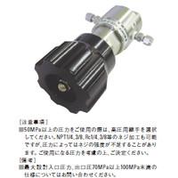 ユタカ 計測機器 ステンレス製超高圧用圧力調整器(出入口高圧用継手) HPR-4-H5H5-CRFCRF-J1 1個 (直送品)