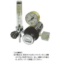 ユタカ 計測機器 MAGガス用流量計付ヒーター内蔵二段式圧力調整器MAG溶接用 混合用 FCR-226 1個 (直送品)
