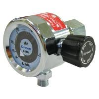 ユタカ 中流量用円形流量計(バルブ内蔵) 二酸化炭素用 DN-30L-CO2-V 1個 (直送品)