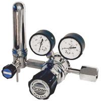 ユタカ 計測機器 ステンレス製流量計付二段式精密圧力調整器ヘリウム用 GSN2-4-5AB6-1LF4TF-F 1個 (直送品)
