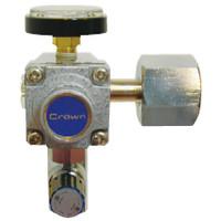 ユタカ 計測機器 分析用小型二段式圧力調整器 MBR2-3004-2RF4TF-V 1個 (直送品)