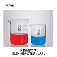 コクゴ ビーカー<ガラス>(目安目盛付)010020-10051A 100ml 111-59305 1セット(10本入) (直送品)