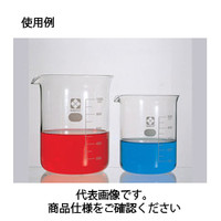 コクゴ ビーカー<ガラス>(目安目盛付)010020-200051A 2000ml 111-59310 1本 (直送品)