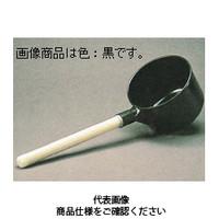 コクゴ 実験用匙・スプーン ポリ柄杓 1.8L 黒 101-35401 1セット(2本入) (直送品)