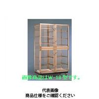 コクゴ デシケーター W-18S (帯電防止アクリル) 101-00101 1台 (直送品)