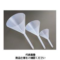コクゴ 樹脂製三角ロート ポリロート 240φ PE製 (足付き) 101-26110 1セット(2個入) (直送品)