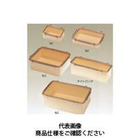 コクゴ タイトボックス 浅形 1.5L No.4 101-63706 1セット(3個入) (直送品)