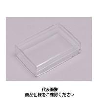 コクゴ スチロール角ケース 透明 SK-3 101-63303 1セット(40個入) (直送品)