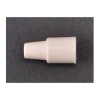 コクゴ 栓・キャップ クリームW栓〈合成ゴム〉 W-7 7ミリ試験管用 101-51402 1セット(50個入) (直送品)