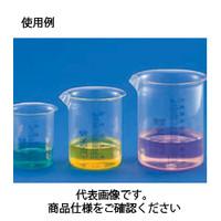 コクゴ ビーカー 青目盛付き 1720 PMP 25ml 111-00501 1セット(10個入) (直送品)