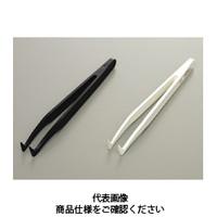 コクゴ プラスチック製ピンセット PBTPピンセット K6 白 PBTP製全長120mm 110-06607 1セット(2個入) (直送品)