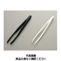 コクゴ プラスチック製ピンセット PBTPピンセット K35a 白 PBTP製全長120mm 110-06609 1セット(2個入) (直送品)