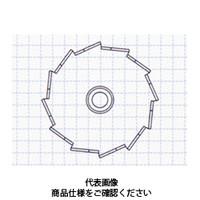 コクゴ 撹拌用品 スリーワンモータ用攪拌翼 ディスパ形状翼径80mm(ボス付) 111-59222 1個 (直送品)