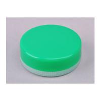 コクゴ 軟膏壺(P缶) 緑 E-4 110-4150204 1セット(200個:100個入×2箱) (直送品)