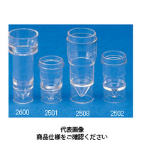コクゴ バイアル ディスポーザブル・サンプルカップ25011.5ml 14φ×23mm (1000本入) 101-99001 (直送品)