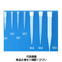コクゴ マイクロピペット用チップ チップ941 ブルー 容量100から1000μl(1000本入) 111-46607 (直送品)