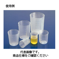 コクゴ ディスポカップ デスカップ200ml D-200 (PP製)(1000個入) 111-33604 1ケース(1000個入) (直送品)