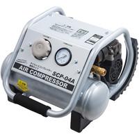 NAKATOMI オイルレスコンプレッサー タンク容量4L SCP-04A (直送品)
