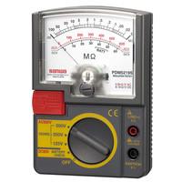 3レンジ式アナログ絶縁抵抗計 PDM5219S 三和電気計器 (直送品)