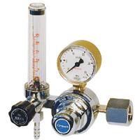 ユタカ 計測機器 流量計付一段式圧力調整器 酸素用 FR-I 1個 (直送品)