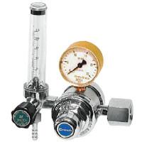 ユタカ 計測機器 流量計付二段式圧力調整器 窒素用 FR-II 1個 (直送品)