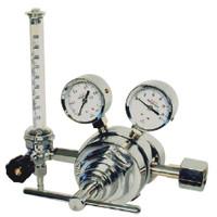 ユタカ 計測機器 中流量用流量計付ニ段式圧力調整器 酸素用 FR-IIL 1個 (直送品)
