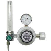 ユタカ 計測機器 中流量配管用流量計付圧力調整器 アルゴン用 FR-IH-P 1個 (直送品)