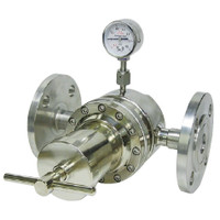 ユタカ 計測機器 ステンレス製大流量配管用圧力調整器 SR-ILL 1個 (直送品)
