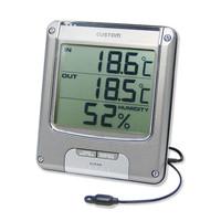 カスタム デジタル温湿度計 CTH-204 (直送品)