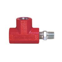 理研機器(RIKEN) 計測機器 圧力計取付金具 T-2 T-2 1個 (直送品)