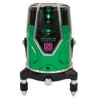 シンワ測定 レーザーロボグリーンNeoESensor51縦横大矩通り芯×2地墨 71605 (直送品)