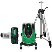 シンワ測定 レーザーロボ グリーン NeoESensor51 受光器三脚セット 71615 (直送品)