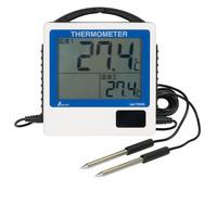 デジタル温度計 G-2 二点隔測式 防水型 73046 1セット(2台) シンワ測定 (直送品)