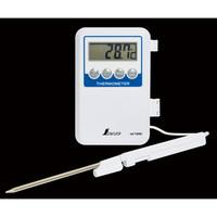 デジタル温度計 H-1 隔測式プローブ 防水型 73080 1セット(2台) シンワ測定 (直送品)