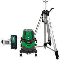 レーザーロボグリーンNeo51AR BRIGHT 受光器三脚セット 78289 シンワ測定 (直送品)